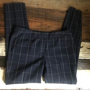 Amanda + Chelsea windowpane trousers